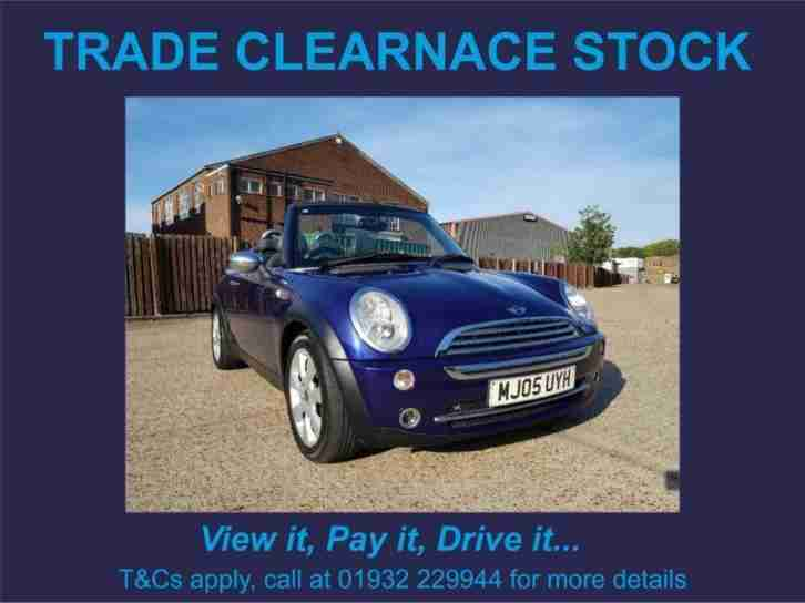 2005 Convertible 1.6 Cooper 2dr
