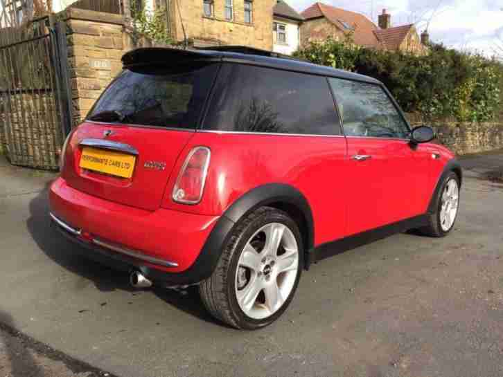2005 MINI HATCH COOPER 1.6 COOPER 3D 114 BHP