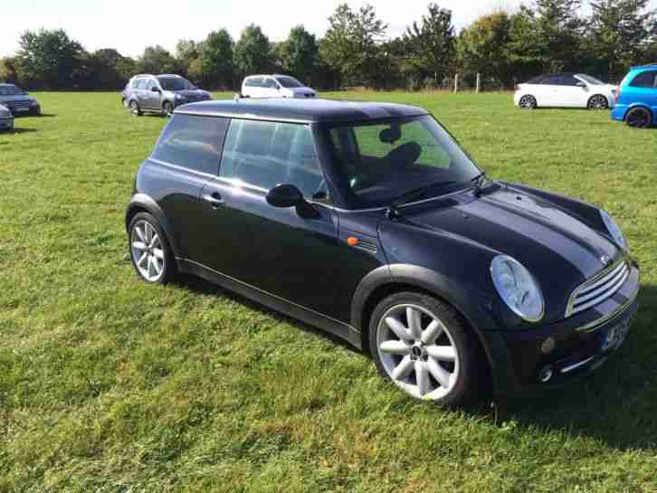 mini cooper convertible 2004 1 6 petrol silver chili pack car for sale. Black Bedroom Furniture Sets. Home Design Ideas