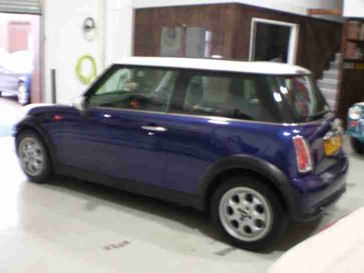 mini 2005 cooper black eye purple car for sale. Black Bedroom Furniture Sets. Home Design Ideas