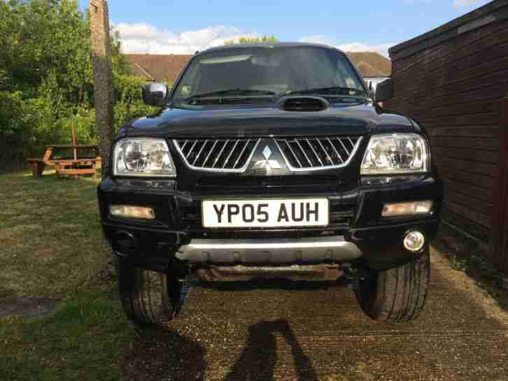 2005 MITSUBISHI L200 ANIMAL LWB 4WD BLACK Unfinished Project Lifted Off road 4x4