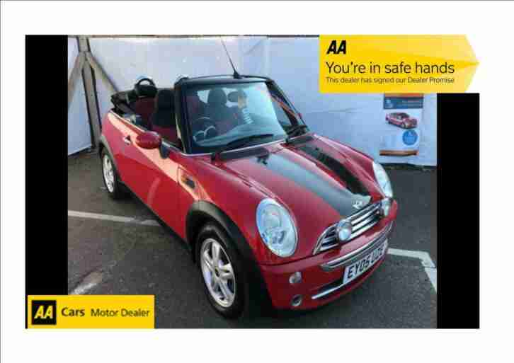 2005 Mini Cooper 1.6 Convertible, Female Owned , Parking Sensors, 12 Month