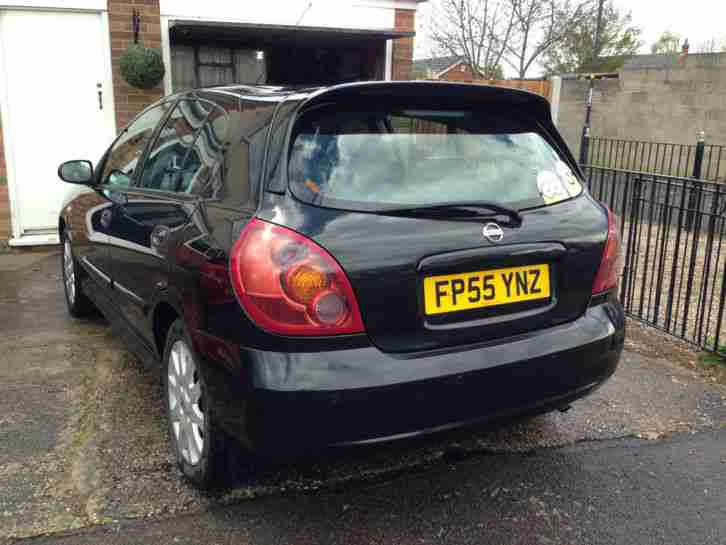 2005 NISSAN ALMERA 1.5 SX BLACK 5 door