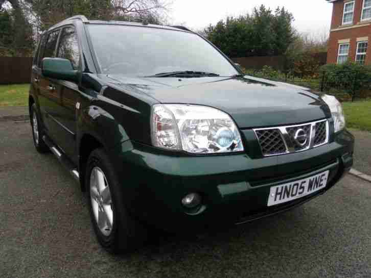 nissan 2005 x trail diesel 136 sve met green full service car for sale. Black Bedroom Furniture Sets. Home Design Ideas