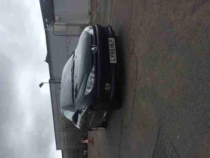 2005 PEUGEOT 206 ALLURE CC BLACK 1.6 PETROL ROOF NOT WORKING 92K MILES