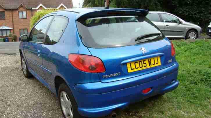 peugeot 206 owners manual 2005