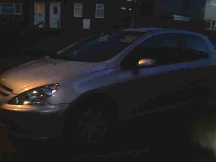 2005 PEUGEOT 307 S HDI 90 SILVER