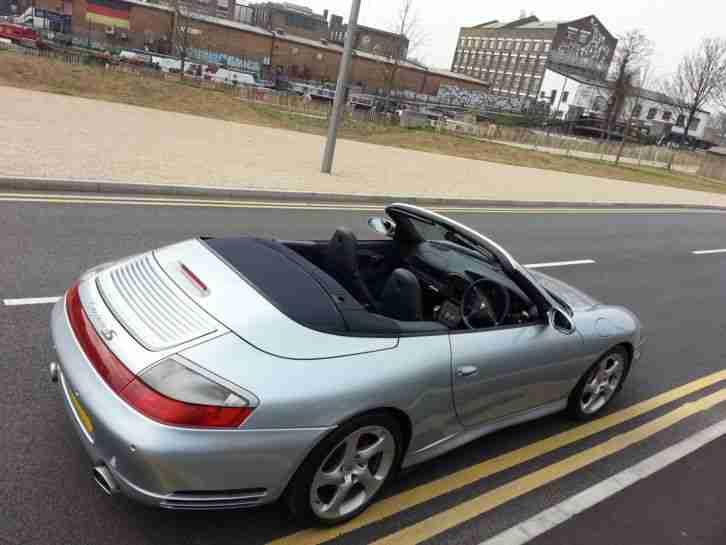 porsche 2005 911 996 carrera 4s cabriolet polar silver. Black Bedroom Furniture Sets. Home Design Ideas