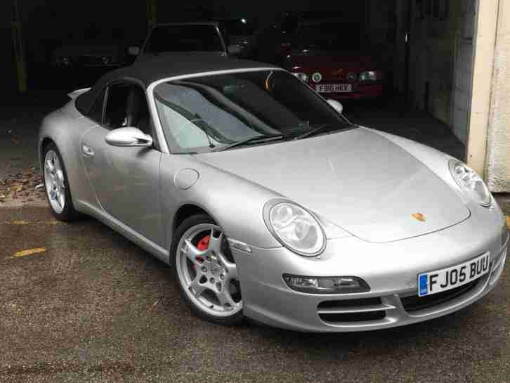 2005 PORSCHE 911 CARRERA 2 S [997] Auto Tiptronic CONVERTIBLE LOW MILES