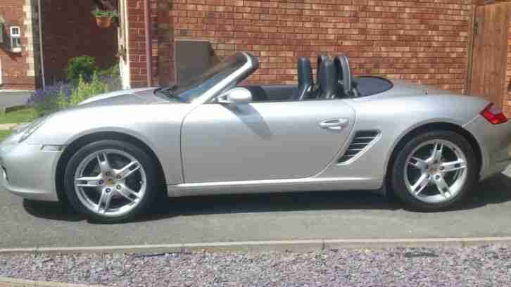 2005 BOXSTER 987 in SILVER 2.7,