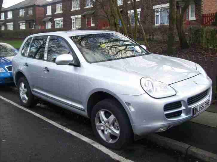 2005 CAYENNE S TIPTRONIC SILVER 4.5 1