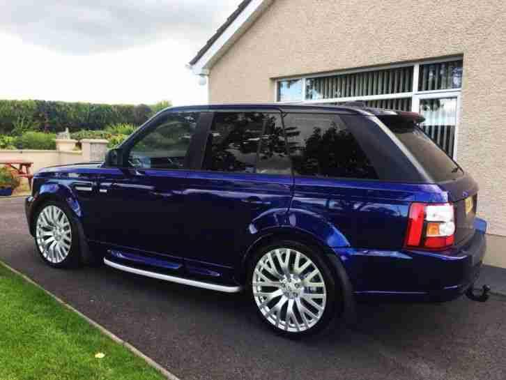 2005 range rover sport 2 7 tdv6 hse car for sale. Black Bedroom Furniture Sets. Home Design Ideas