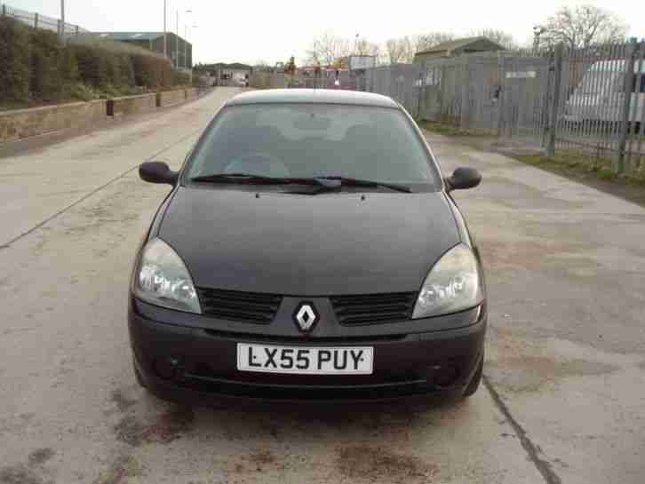 2005 RENAULT CLIO AUTHENTIQUE BLACK