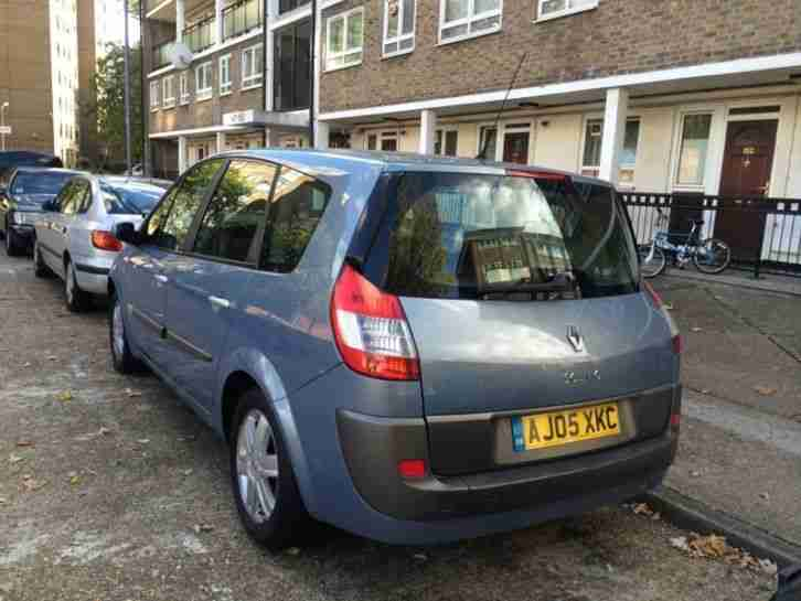 2005 RENAULT GRAND SCENIC DYN-IQUE 16V MET BLUE 80K SERVICE HISTORY 1395 ONO