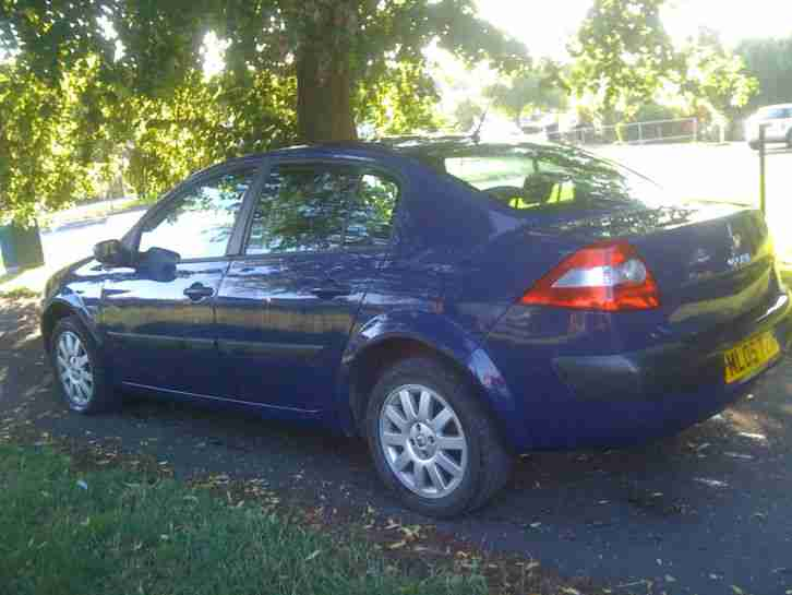 renault 2005 megane expression dci 120 blue car for sale. Black Bedroom Furniture Sets. Home Design Ideas
