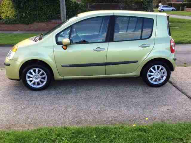 2005 renault modus dynamique 16v green car for sale. Black Bedroom Furniture Sets. Home Design Ideas