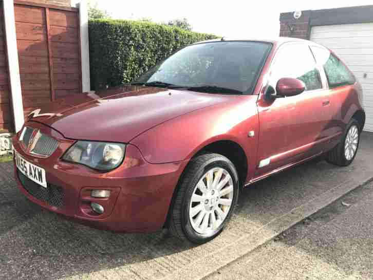 2005 ROVER 25 GS 1.4 METALLIC RED ONLY DONE 28,375 MILES FULL SERVICE HISTROY