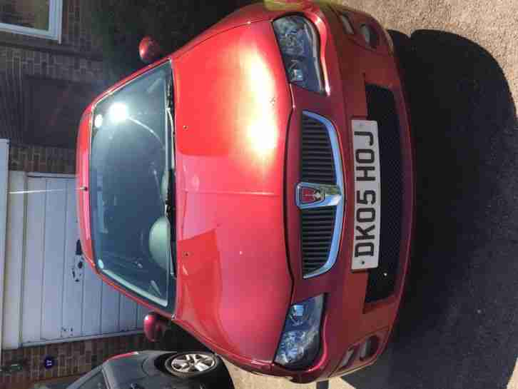 2005 ROVER 25 SEI 103 RED