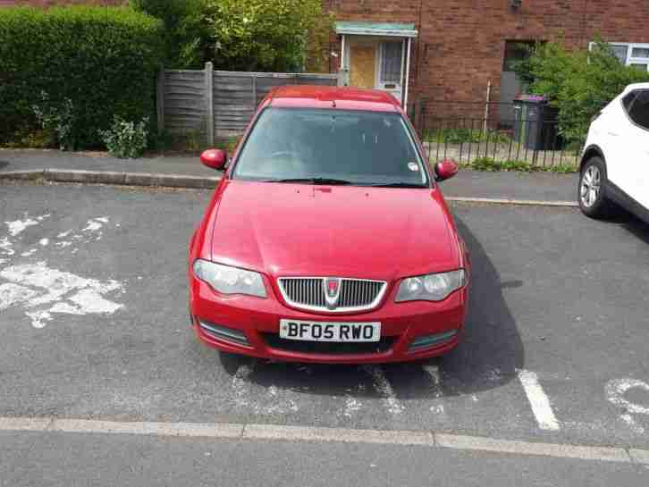 rover 2005 45 mg club 1 4 petrol low mileage 2 owners 12 mot cheap car. Black Bedroom Furniture Sets. Home Design Ideas