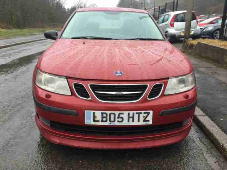 2005 SAAB 9-3 AERO 210 BHP RED ***FSH Upto 85k with Saab***Full Saab Body Kit***