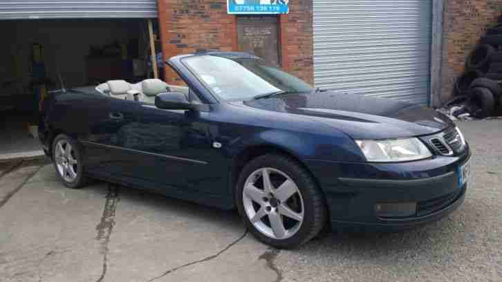 saab 2005 9 3 aero convertible spares or repairs project. Black Bedroom Furniture Sets. Home Design Ideas