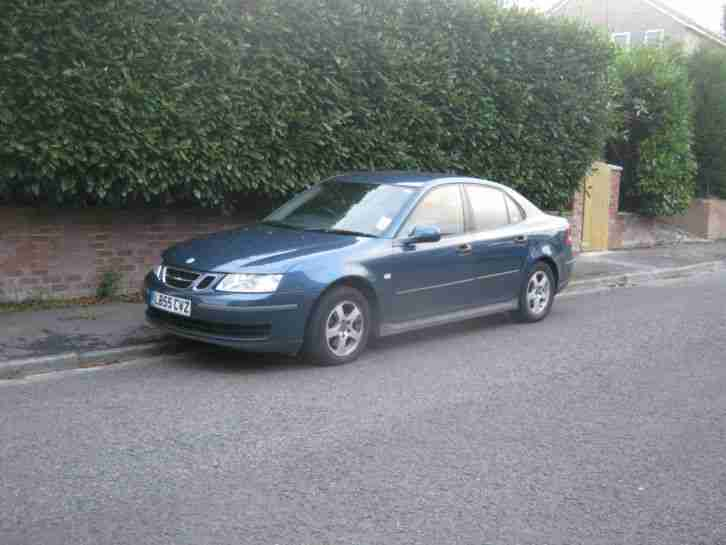 2005 SAAB 9-3 LINEAR TID 8V DIESEL IN BLUE