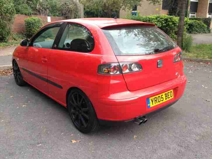 2005 SEAT IBIZA FR 1.9 TDI PD 130 BHP, LONG MOT, TAXED