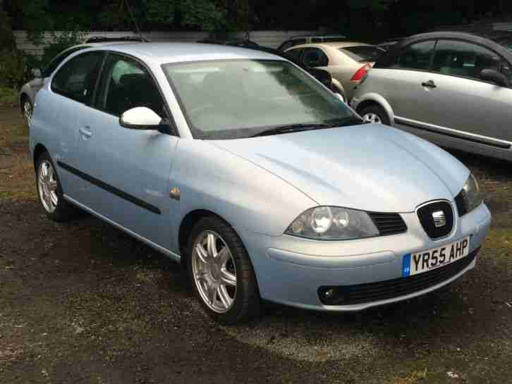 Seat 2005 IBIZA SPORT 16V BLUE 1.4 3 DOOR GREAT CONDITION + NO RESERVE