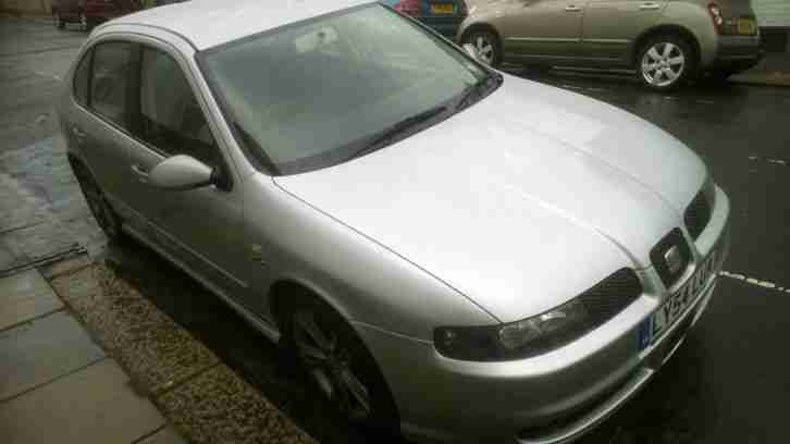 2005 SEAT LEON FR DIESEL TDI GREY NEW CAM BELT LOADS OF HISTORY