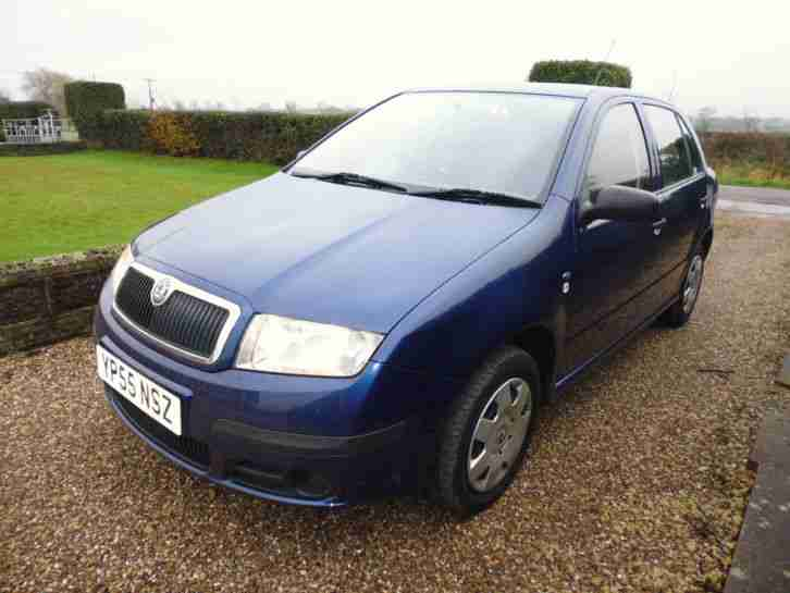 skoda 2005 fabia classic htp 1 2 blue car for sale. Black Bedroom Furniture Sets. Home Design Ideas