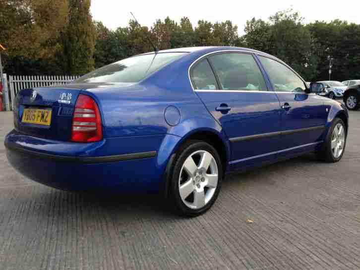 skoda 2005 superb 1.9 tdi 130 comfort +diesel +fsh +mot +low mileage
