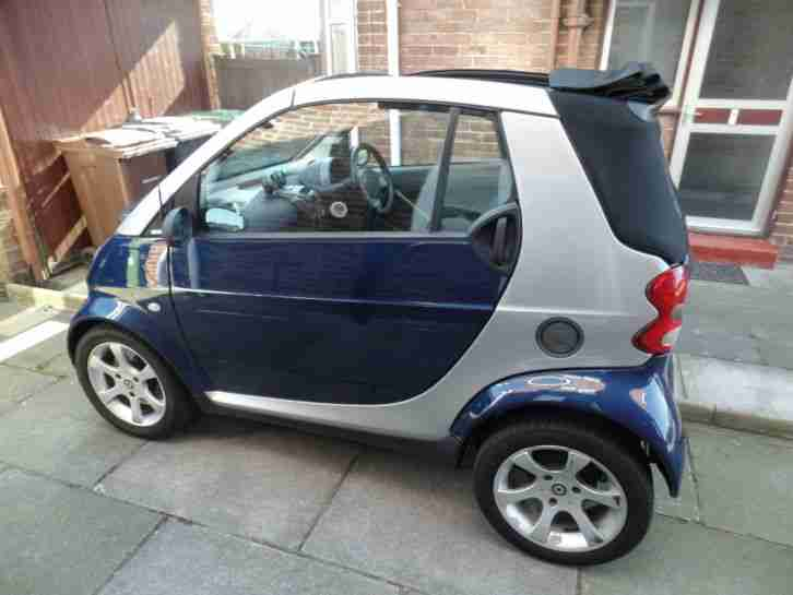 2005 SMART FORTWO PULSE 61 S-A SILVER