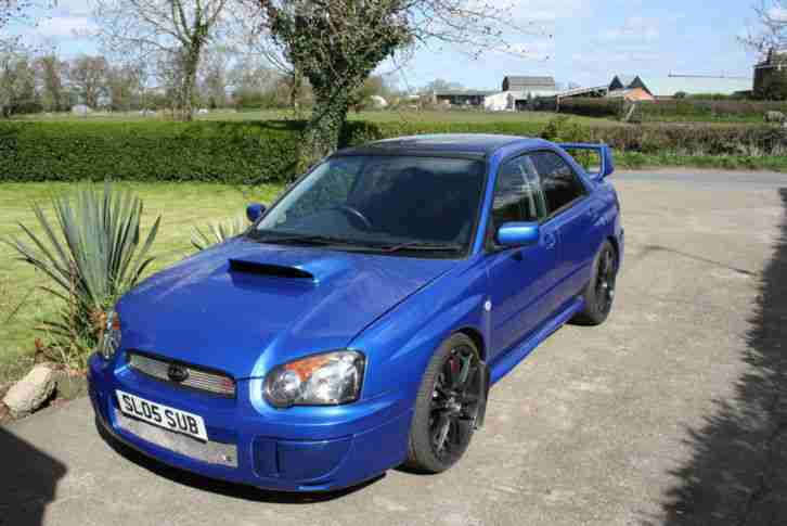 subaru 2005 impreza wrx blue car for sale. Black Bedroom Furniture Sets. Home Design Ideas