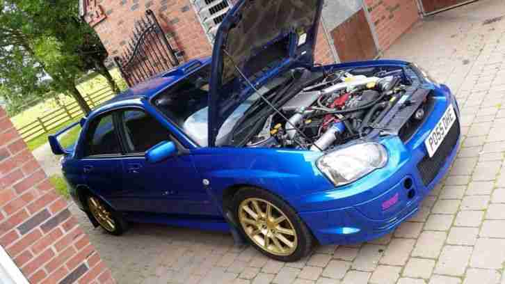 2005 IMPREZA WRX STI TYPE UK 360BHP