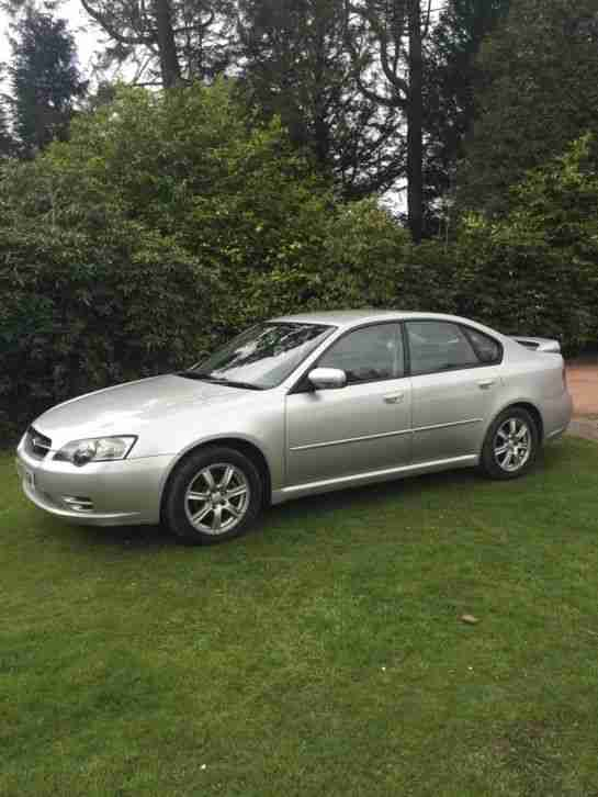 2005 SUBARU LEGACY 4WD 2.0I PETROL 5 SPEED MANUAL SALOON