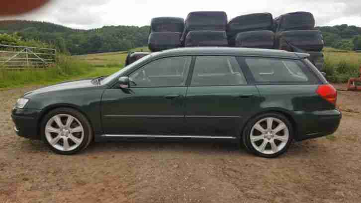 subaru 2005 legacy estate 3 0 r spec b 4x4 green service. Black Bedroom Furniture Sets. Home Design Ideas