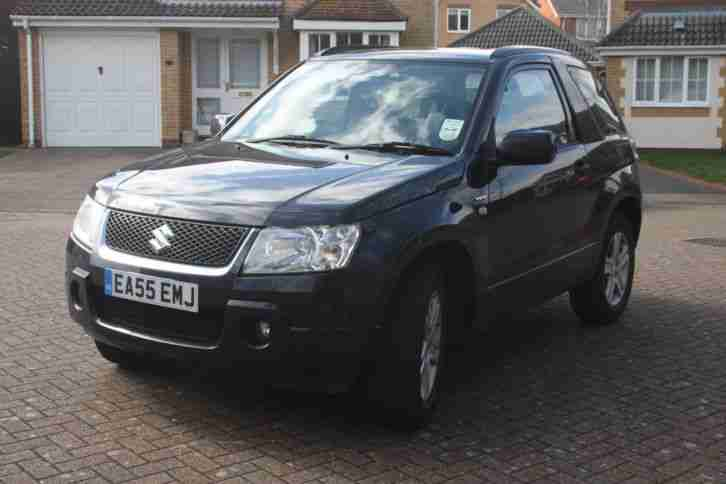 suzuki 2005 grand vitara 1 6 vvt black car for sale. Black Bedroom Furniture Sets. Home Design Ideas