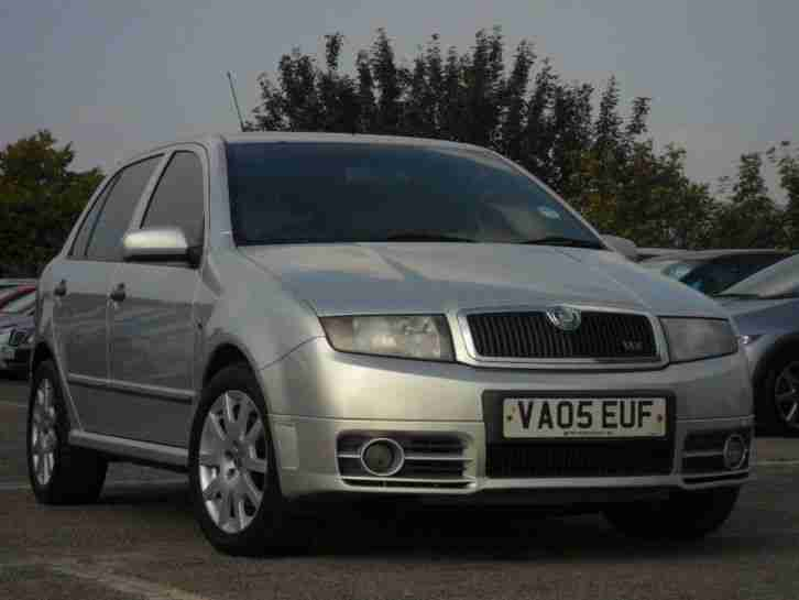 skoda 2005 fabia 1 9 tdi pd 130 vrs 5dr car for sale. Black Bedroom Furniture Sets. Home Design Ideas