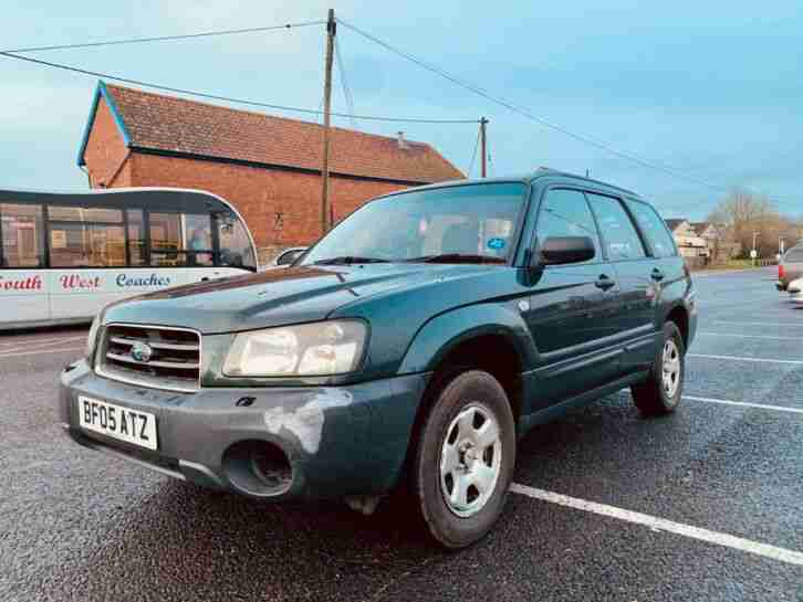 2005 Forester 2.0 Petrol Manual (FSH,