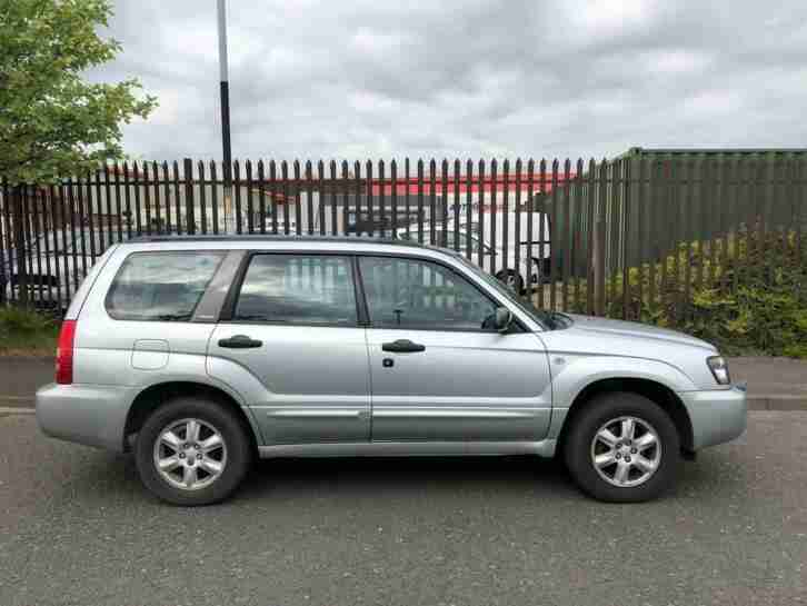 2005 Forester 2.0 X 5dr