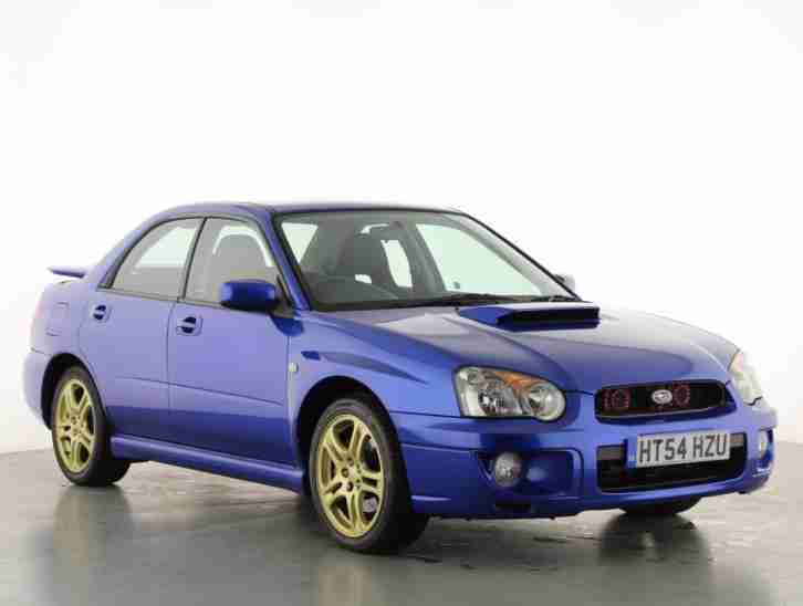 2005 Subaru Impreza 2.0 WRX AWD Turbo 4dr Petrol blue Manual