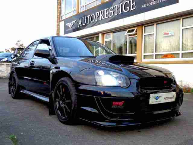 subaru 2005 impreza 2 0 wrx sti type uk ppp black low miles car for sale. Black Bedroom Furniture Sets. Home Design Ideas