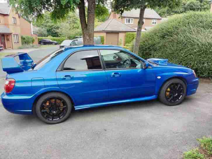 2005 Impreza WRX STI Type UK