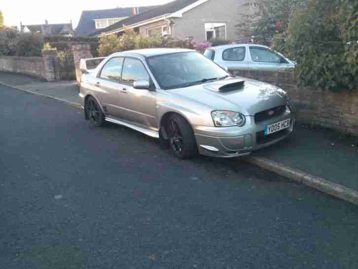 2005 Impreza Widetrack WRX STi Type UK