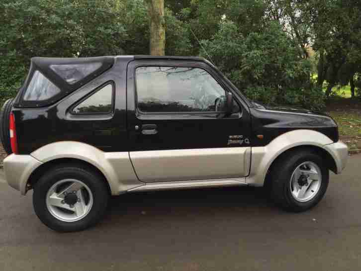 2005 Suzuki Jimny 1.3 O2 4 WHEEL DRIVE,FWD,PETROL,CONVERTIBLE SOFT TOP