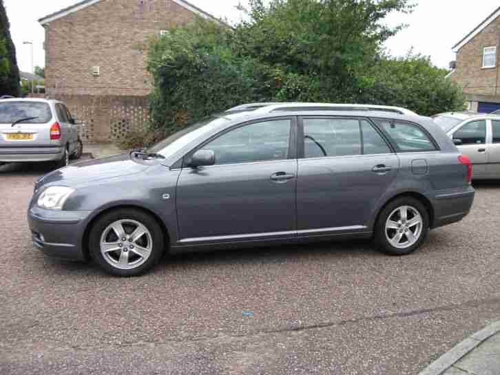 2005 TOYOTA AVENSIS T3-X SILVER