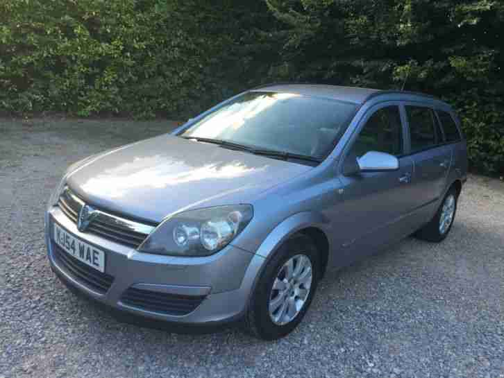 vauxhall 2005 astra club 1 7 cdti silver one owner car for sale. Black Bedroom Furniture Sets. Home Design Ideas