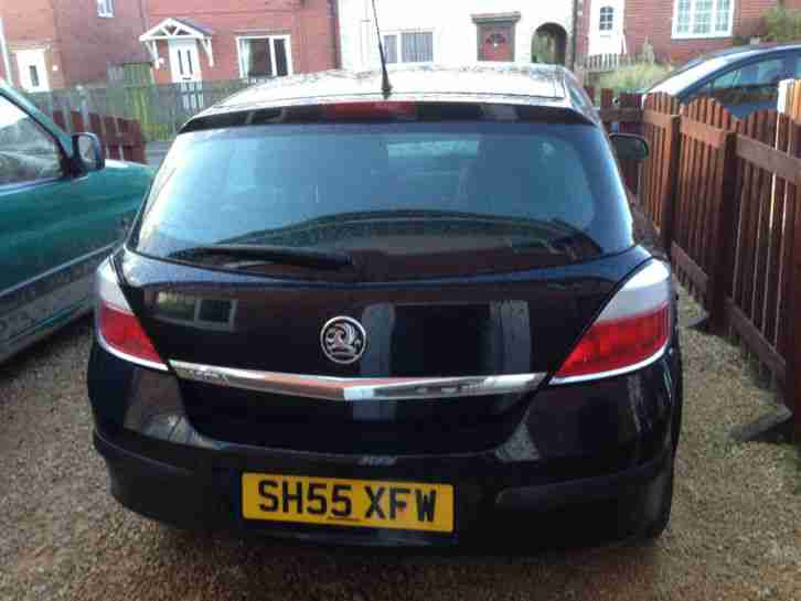 2005 VAUXHALL ASTRA LIFE TWINPORT BLACK