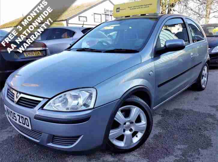 2005 VAUXHALL CORSA 1.0 ENERGY 3D 60 BHP! P/X WELCOME! 65K MILES ONLY! AIR-CON!
