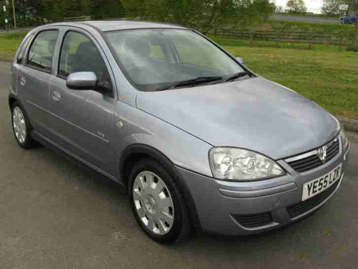 2005 vauxhall corsa design twinport silver car for sale. Black Bedroom Furniture Sets. Home Design Ideas